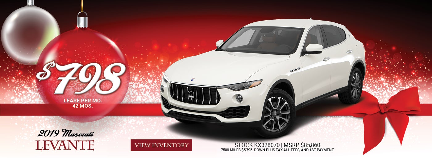 Exotic Car Dealerships Near Me >> Maserati Dealership In Somerville Nj Luxury Cars Near